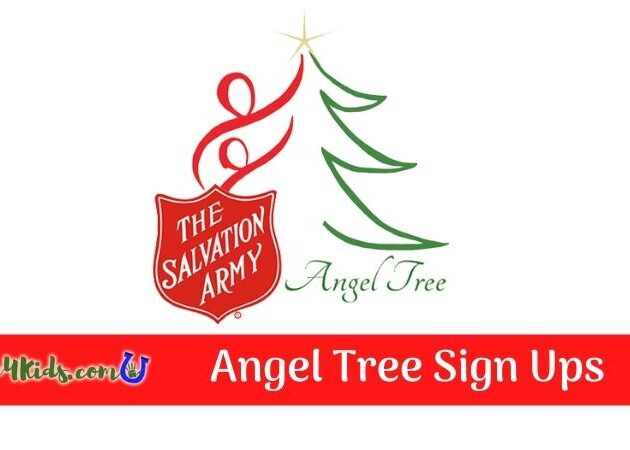 Angel Tree Sign Ups Graphic