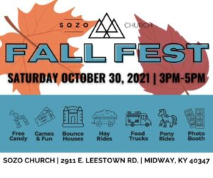 Sozo Fall Fest Graphic